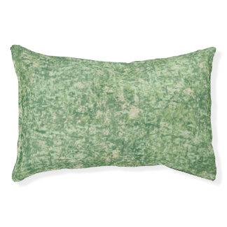 Verdes texturizados cama para perro pequeño