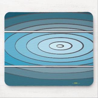 Verdes waves mouse pad