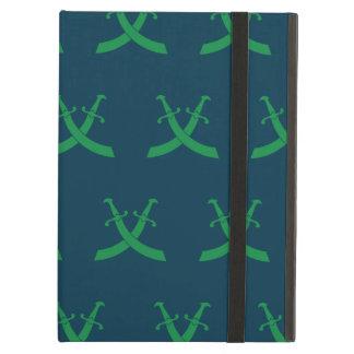 Verdes y azules de las espadas