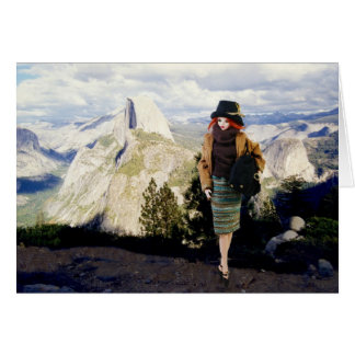 Verdi at Glacier Point Overlook, Yosemite Card