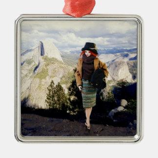 Verdi at Glacier Point Overlook, Yosemite Metal Ornament