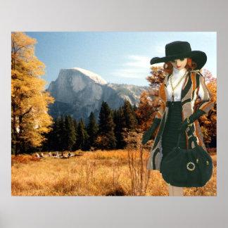 Verdi at Halfdome Meadow, Yosemite National Park Poster
