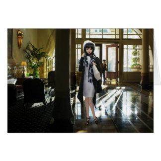 Verdi, Driskill Hotel Lobby in Austin, Texas Cards