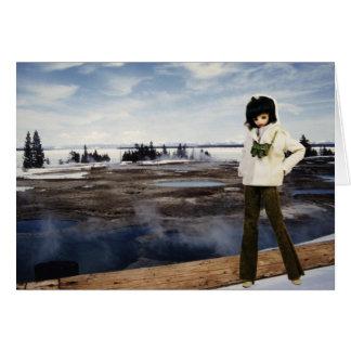 Verdi en PA nacional del lago Yellowstone, Tarjeta De Felicitación