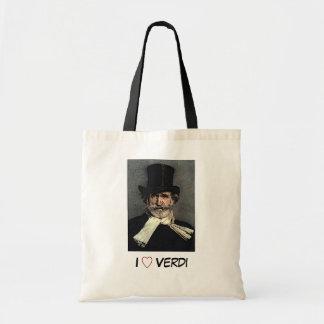 Verdi, Giuseppe Budget Tote Bag