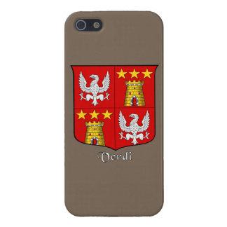 Verdi Italian Surname Historical Shield Case For iPhone SE/5/5s