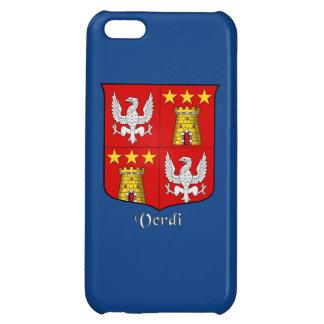 Verdi Italian Surname Historical Shield iPhone 5C Case