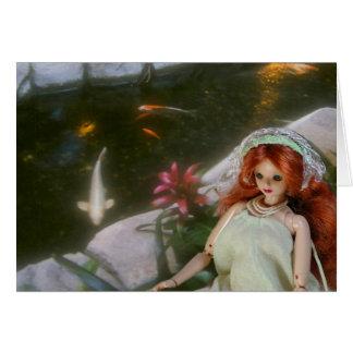 Verdi, Koi Pond at Embassy Suites, San Francisco Card