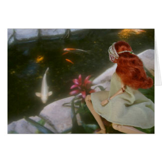 Verdi, Koi Pond, Embassy Suites, San Francisco Card
