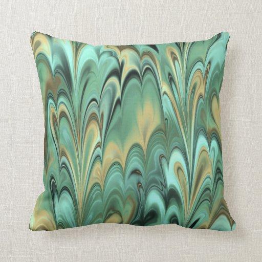 Verdi Moire Pillows
