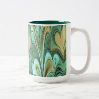 Verdi Moire Two-Tone Coffee Mug