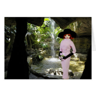 Verdi - Pink Attire,  Cockrell  Butterfly Museum Greeting Card
