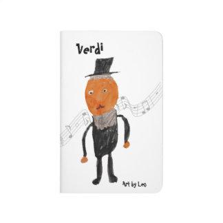 Verdi - pocket journal