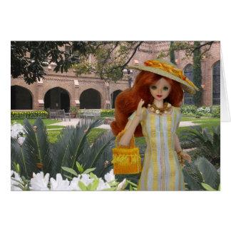 Verdi, primavera en la iglesia de Cristo, Houston, Tarjeta De Felicitación