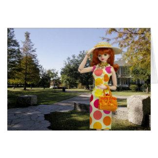 Verdi, septiembre en el parque de Sam Houston Tarjeta De Felicitación