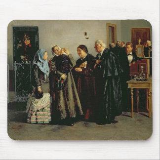 Verdict, 'Not Guilty', 1882 Mousepad