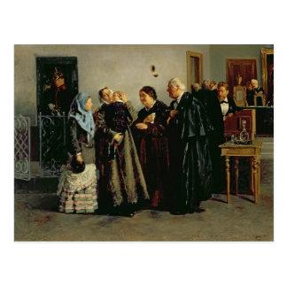 Verdict, 'Not Guilty', 1882 Postcard