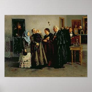 Verdict, 'Not Guilty', 1882 Poster