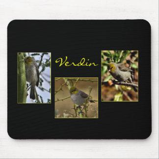 Verdin bird mousepad