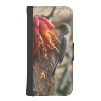 Verdin on Aloe Blossom Phone Wallets