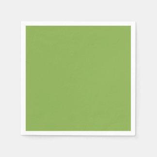 Verdor el color de la moda del año para 2017 servilleta de papel