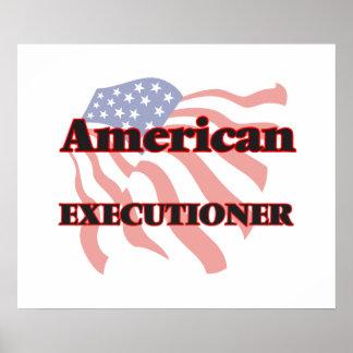 Verdugo americano póster