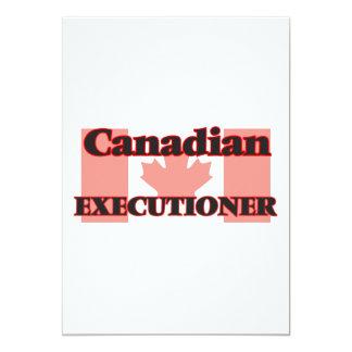 """Verdugo canadiense invitación 5"""" x 7"""""""