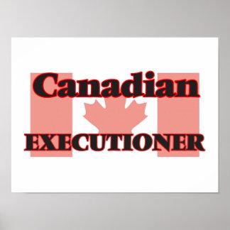 Verdugo canadiense póster