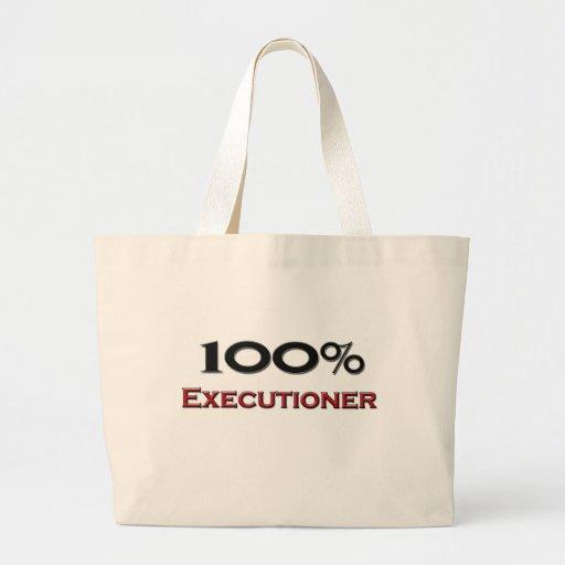 Verdugo del 100 por ciento bolsa lienzo