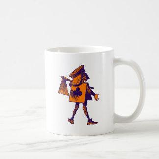 Verdugo del naranja de la púrpura de los clubs taza clásica