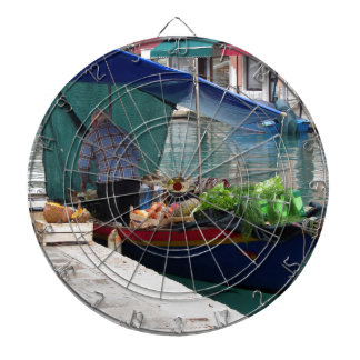 Verdulero flotante en Venecia Tablero De Dardos