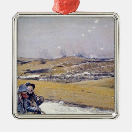 Verdun, 1916 christmas tree ornaments