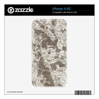 Verdún iPhone 4 Calcomanía