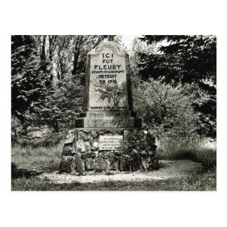 Verdun, Site of Village of Fleury Postcards