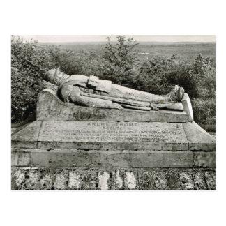 Verdún, tumba del guerrero desconocido postales