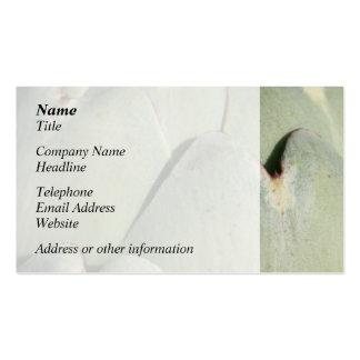 Verdura de la alcachofa plantillas de tarjeta de negocio