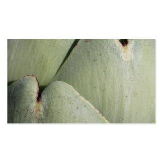 Verdura de la alcachofa tarjeta de visita