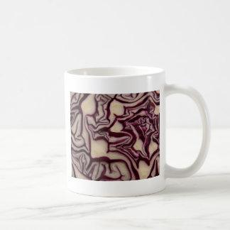 Verdura decorativa taza básica blanca