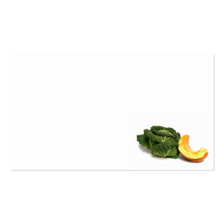 verdura tarjetas de visita