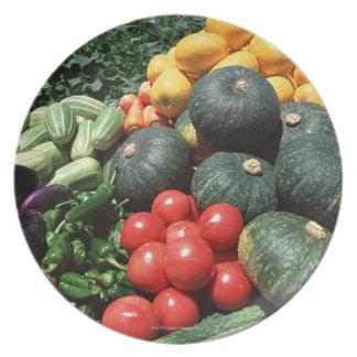 Verduras 2 platos de comidas