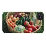 Verduras 5 iPhone 4 carcasas