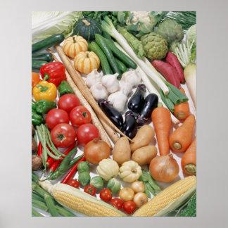Verduras 6 impresiones