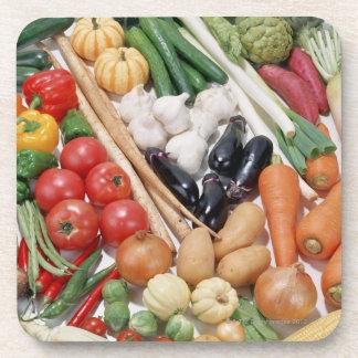 Verduras 6 posavasos de bebida