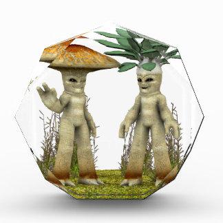 Verduras adorables - agitando