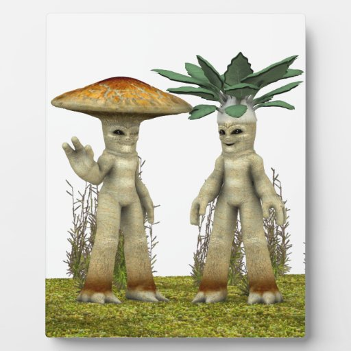 Verduras adorables - agitando placa
