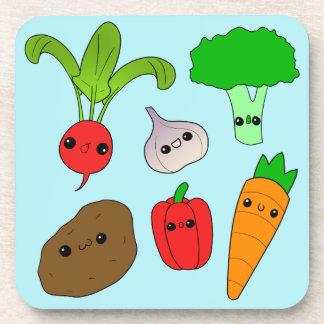 Verduras de Chibi Posavasos