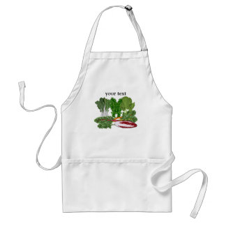Verduras de los amantes del Veggie de los verdes Delantales