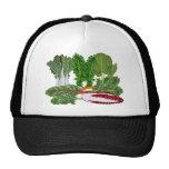 Verduras de los amantes del Veggie de los verdes Gorras