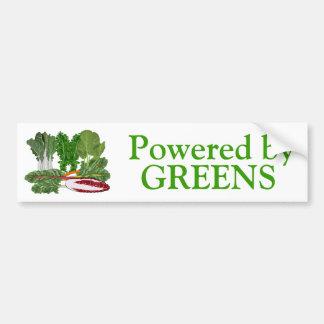 Verduras de los amantes del Veggie de los verdes Pegatina Para Auto