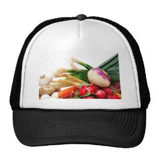 Verduras de raíz gorro
